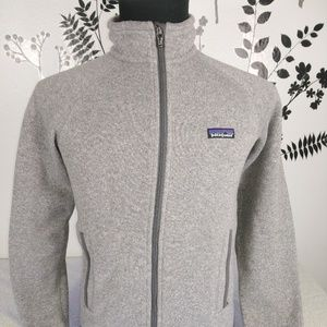 Patagonia men's full zipp jacket gray size xs